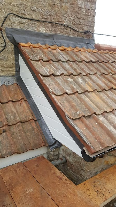 Leadwork flashings and PVCU cladding to extensions, dormers and houses